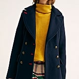 Free People Chicago Fitted Peacoat