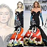 Gigi Hadid in Moschino Fall '15