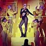 Dua Lipa Wearing a Mugler Bodysuit at the MTV EMAs