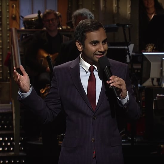 Aziz Ansari on Saturday Night Live Jan. 21, 2017