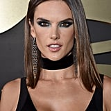 Alessandra Ambrosio on the Red Carpet at Grammys 2016