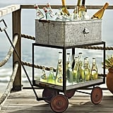 Pottery Barn Metal Rolling Wagon Party Bucket ($199)      Related:                                                                                                           22 Dreamy Ways to Decorate With Outdoor Lights