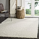Safavieh Athens Shag Collection White Area Rug