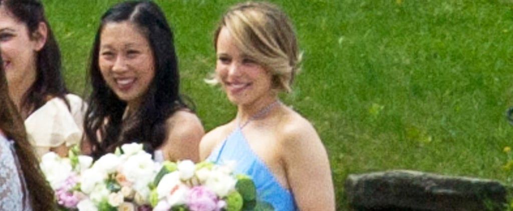 Rachel McAdams Is Overcome With Sweet Emotion at Her Sister's Wedding