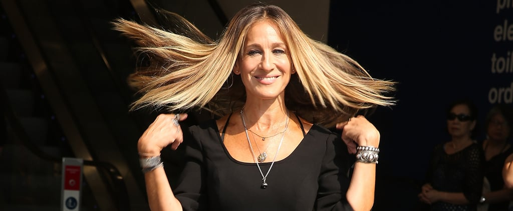 Sarah Jessica Parker's Designing Dresses in 1 Very Unexpected Color