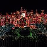 Disneyland: It's a Small World Holiday Nighttime Facade