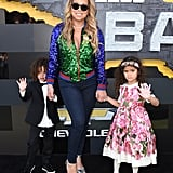 Mariah Carey and Her Kids at The Lego Batman Movie Premiere