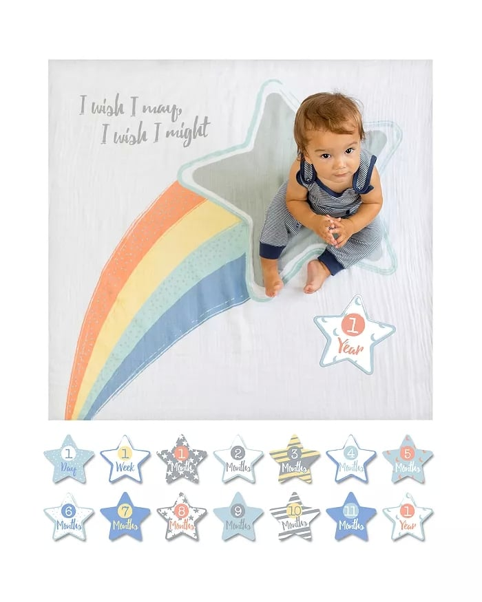Shooting Star Baby Blanket