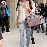 Kim Kardashian in NYC in 2010