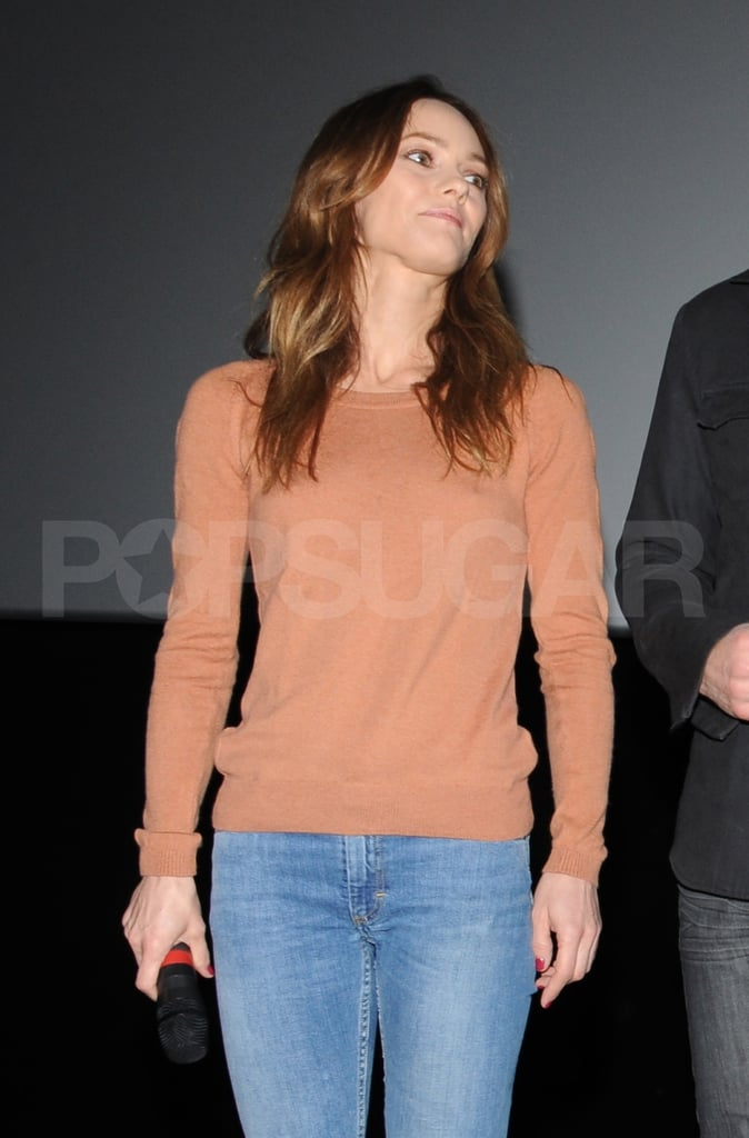 Vanessa Paradis talked about her rumored breakup with Johnny Depp.
