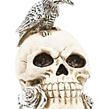 Led Skull With Crow