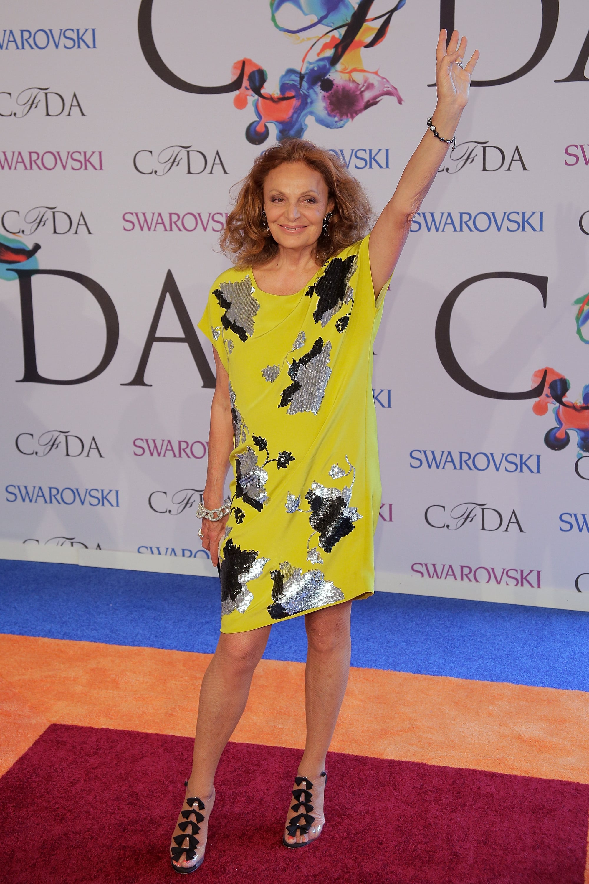 It was recently announced that Diane von Furstenberg will continue her roles as CFDA president through 2016. The designer plans to better oversee the management of Fashion Week — from runway shows to events — in order to maintain the foundation of the industry, which consists of the press, retailers, and, of course, designers.