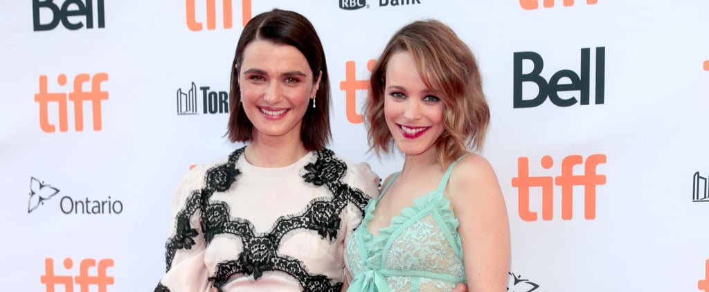Rachel McAdams and Rachel Weisz Hit the Red Carpet Together at TIFF