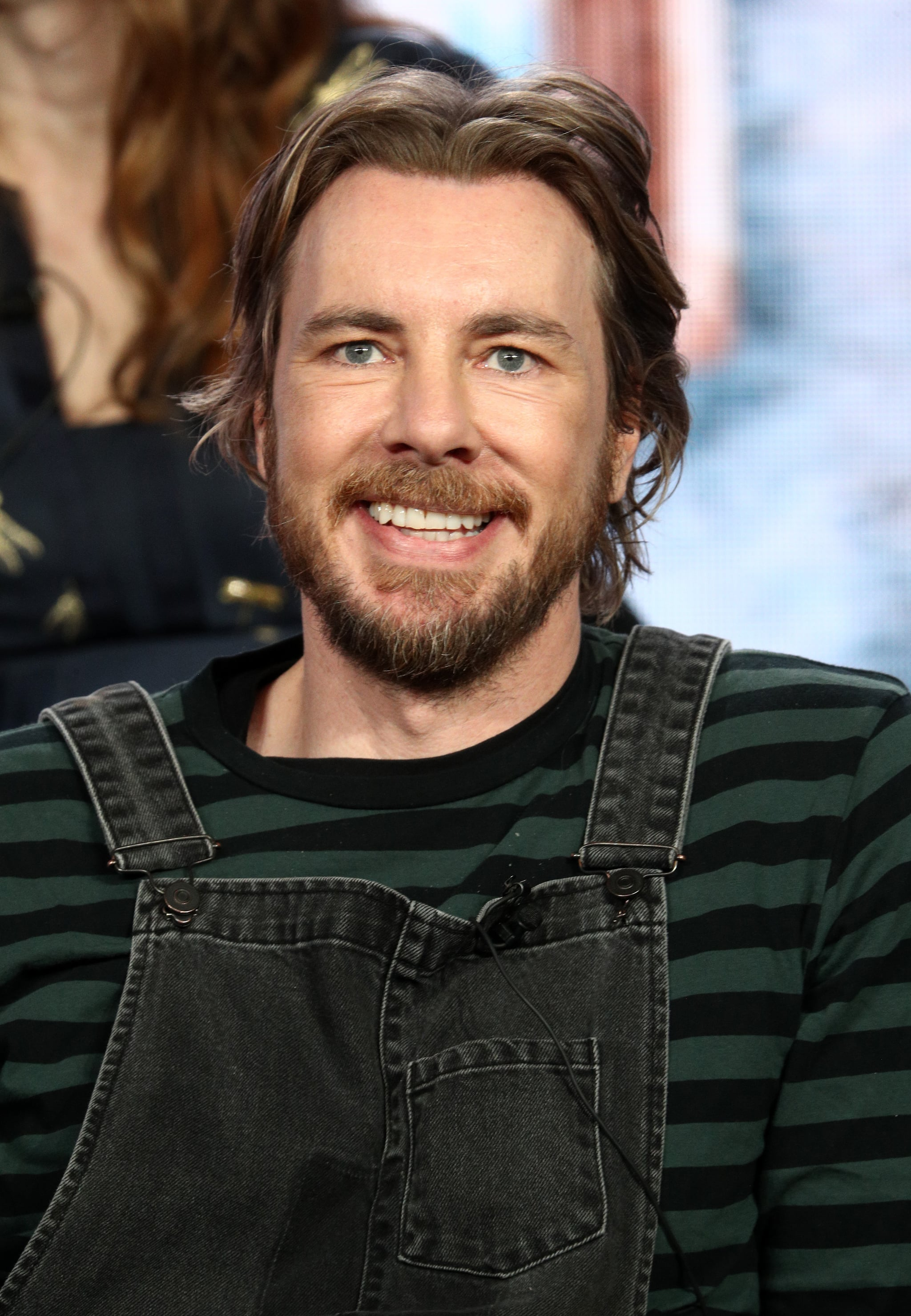 PASADENA, CALIFORNIA - FEBRUARY 05: Dax Shepard of the television show 'Bless This Mess' speaks during the ABC segment of the 2019 Winter Television Critics Association Press Tour at The Langham Huntington, Pasadena on February 05, 2019 in Pasadena, California. (Photo by Frederick M. Brown/Getty Images)