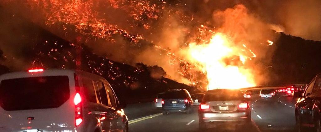 California Wildfires in Los Angeles, Ventura December 2017