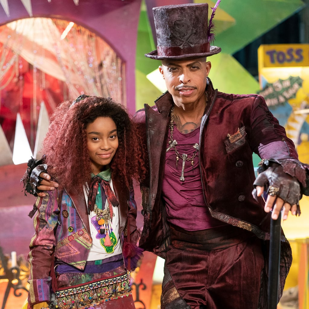 Dr Facilier And His Daughter Celia In Descendants 3 Photos