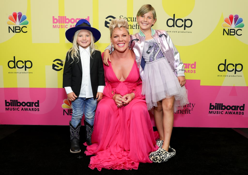 Pink With Her Kids at the 2021 Billboard Music Awards