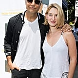 Jaime Camil and Yael Grobglas