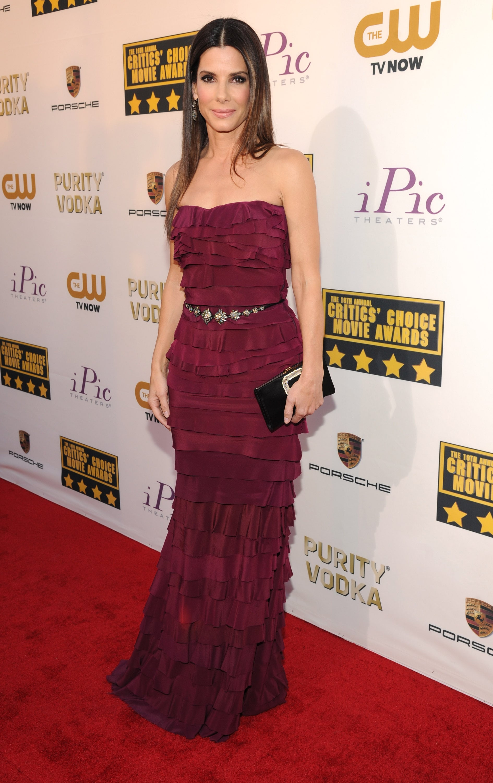 Sandra Bullock at the Critics' Choice Awards 2014