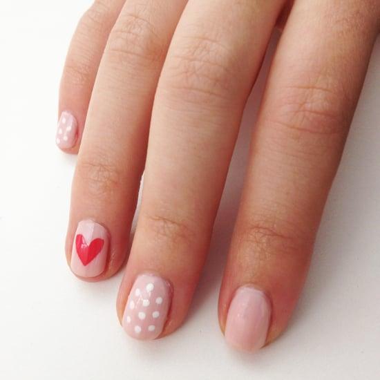 Heart Nail Art Popsugar Beauty