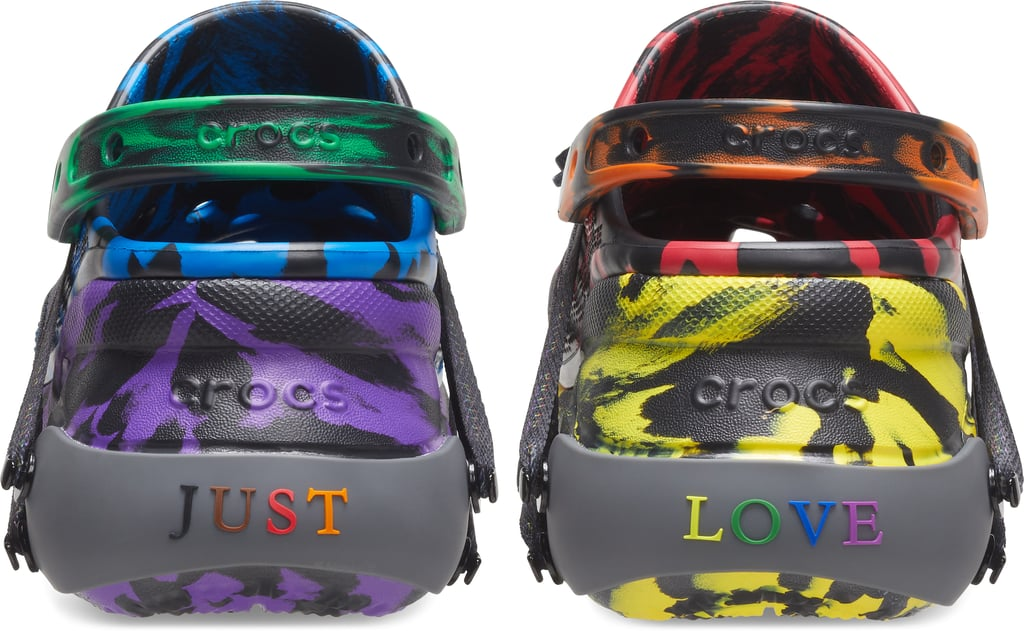 See Crocs and Ruby Rose's Rainbow Shoes For Pride 2020