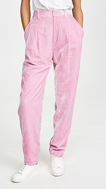 Rachel Antonoff Bea Pleated Pants