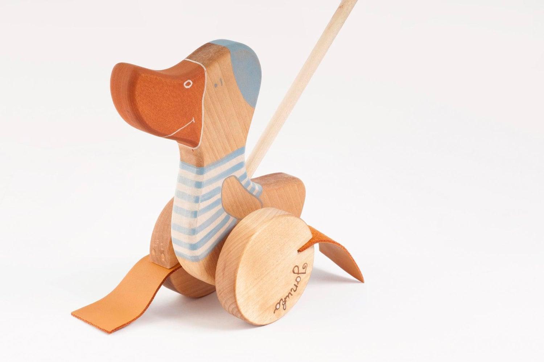 Friendly Toys Push-Along Goose
