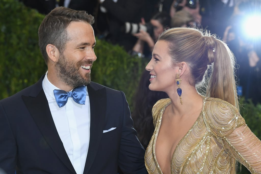 Pictured: Ryan Reynolds and Blake Lively
