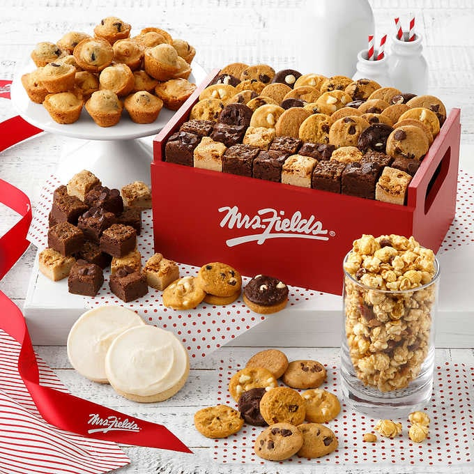 Mrs Fields Cookies Deluxe Crate Costco Holiday Deals 2018