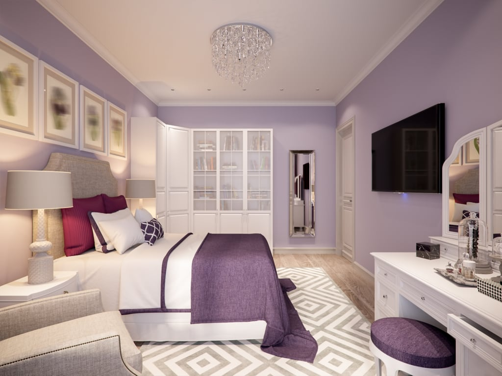 Paint Your Bedroom Walls in an Alluring Hue