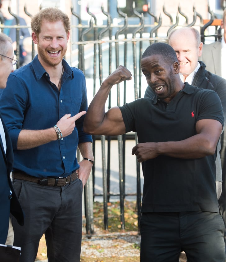 Prince Harry At Russell Youth Centre In Nottingham 2016