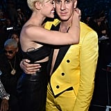 Miley Cyrus and Jeremy Scott at the 2014 MTV VMAs