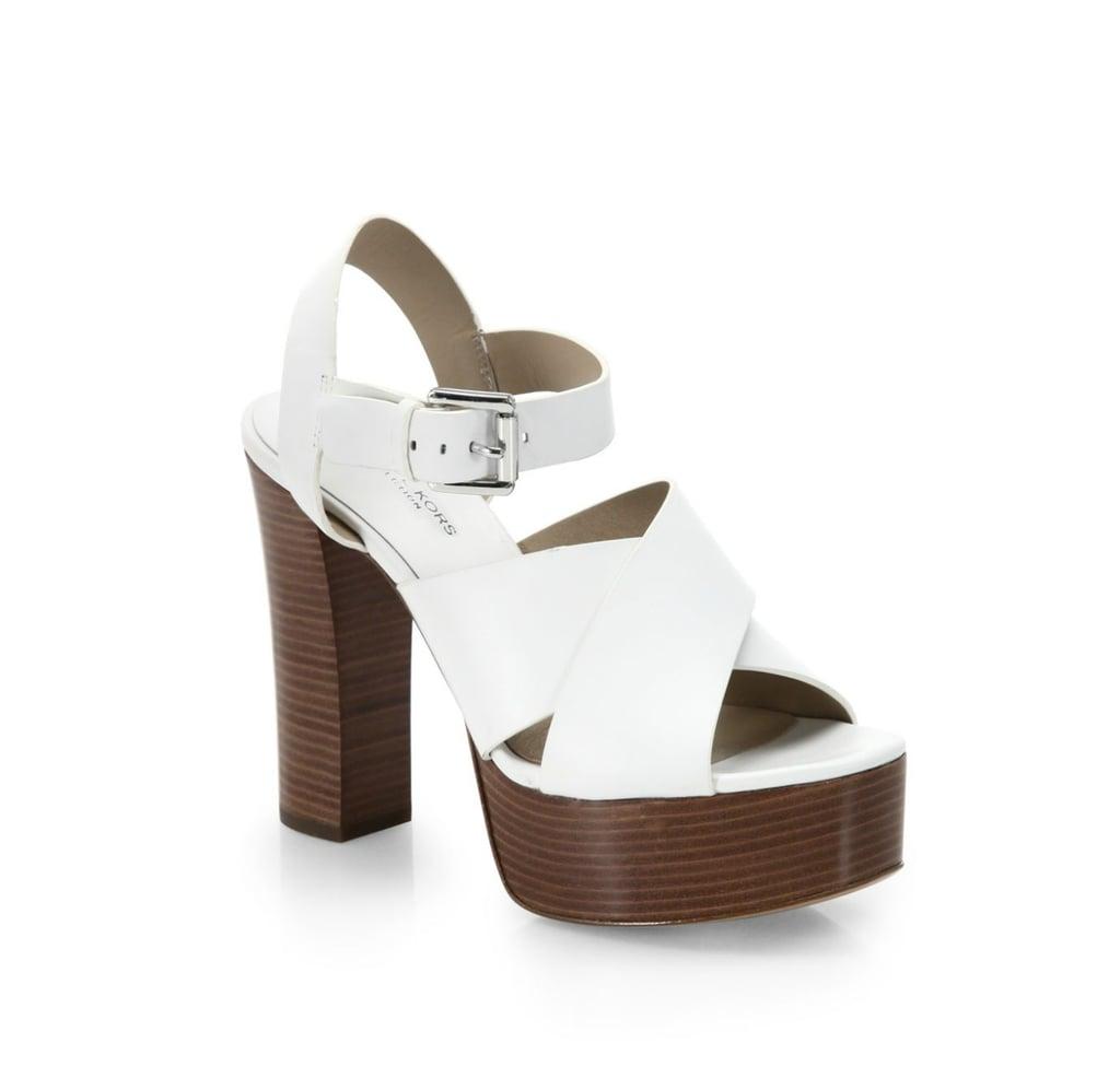 Michael Kors Dara Platform Sandals ($395)