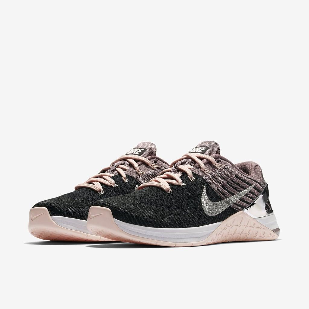 Nike Metcon DSX Flyknit Chrome Blush Training Shoe ($160)