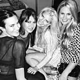 Jessica Simpson had fun with her friends, including famous pal Odette Annable and BFF CaCee Cobb. Source: Instagram user jessicasimpson