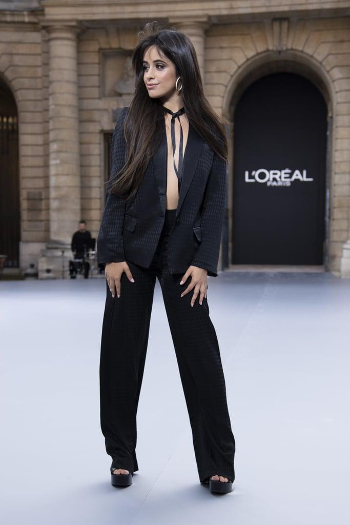Camila Cabello Walks Le Défilé L'Oréal Paris 2019