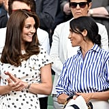 When They Attended the Wimbledon Tennis Championships