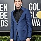 Nicholas Braun at the Golden Globes