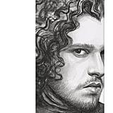 Jon Snow Yoga Mat