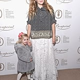 Drew Barrymore and Daughter at Society of MSK