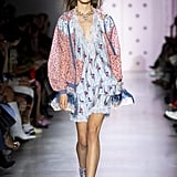 Puffy Sleeves on the Anna Sui Runway at New York Fashion Week