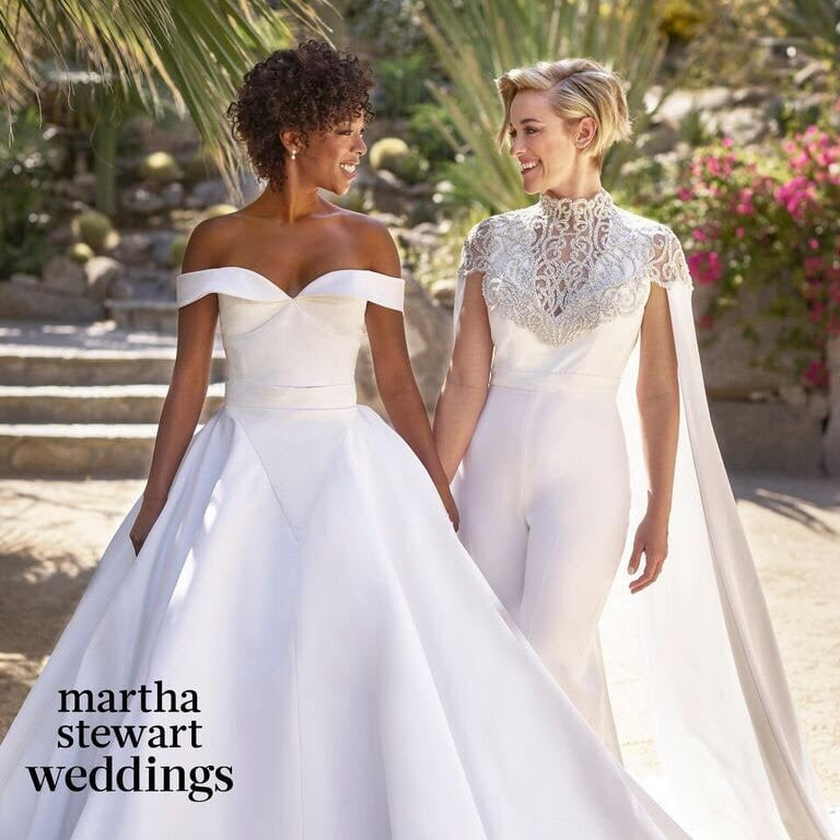 "Samira Wiley and Lauren Morelli tied the knot on March 25 in a stunning desert wedding in Palm Springs, but the couple have been going strong for quite some time now. Samira and Lauren first met on the set of Orange Is the New Black — Lauren is a writer for the Netflix show, on which Samira played Poussey — and got together in September 2014 after Lauren filed for divorce from her husband of two years, Steve Basilone, and penned a powerful essay about discovering her sexual identity. The pair announced their ""magical"" engagement on Instagram in October 2016, and in a recent interview with Out magazine, Samira revealed she was preparing for their trip to Palm Springs when Lauren came home and asked her to marry her. In honor of their beautiful romance, we're looking back at their cutest moments together outside the walls of Litchfield."