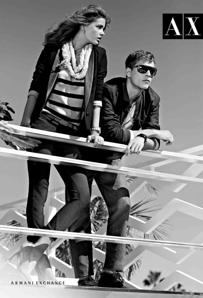 Armani Exchange hits the boardwalk in style. Source: Fashion Gone Rogue