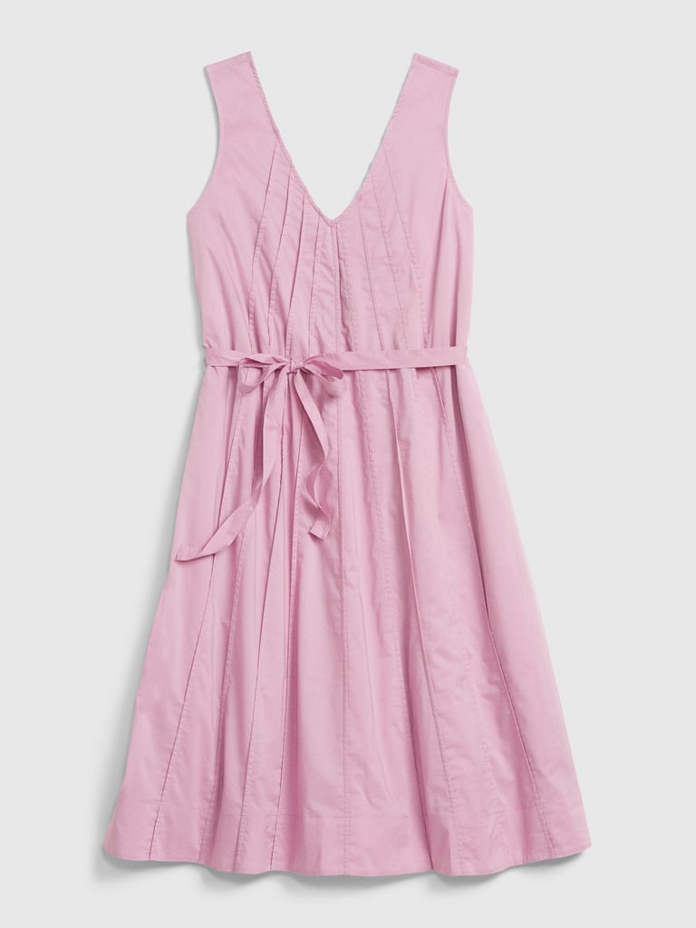 Gap Pintuck Swing Dress