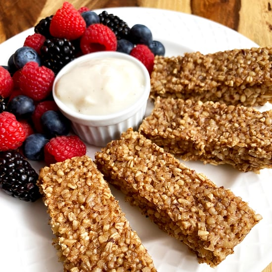 Healthy Vegan Steel-Cut Oatmeal Sticks Recipe
