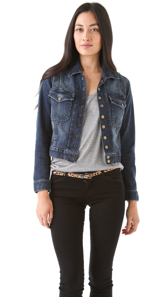 Current/Elliott The Snap denim jacket ($273)