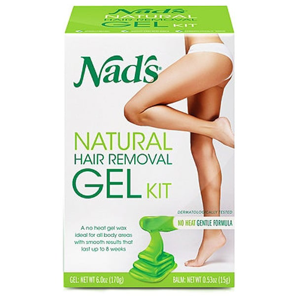 Nad's Natural Hair Removal Gel Kit