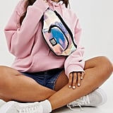 Superdry holo glitter fanny pack