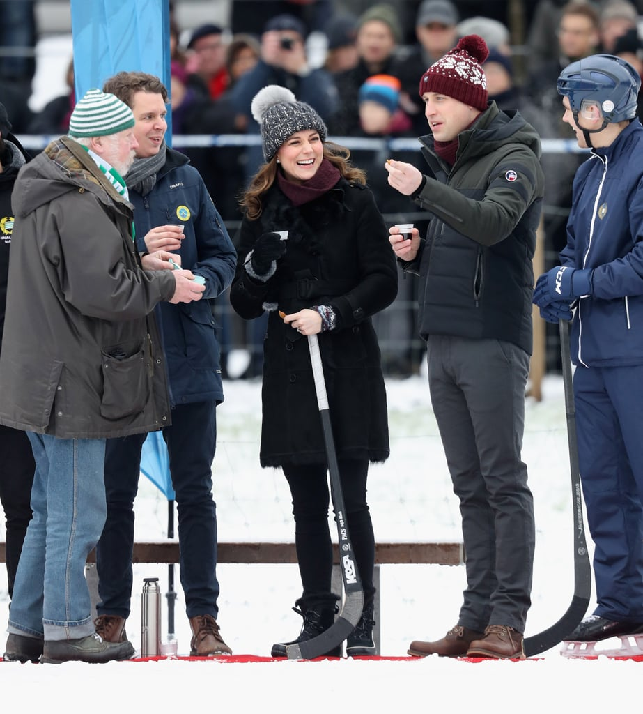 Duke and Duchess of Cambridge In Stockholm Jan. 30.