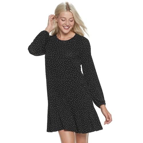 POPSUGAR Drop Waist Mini Dress
